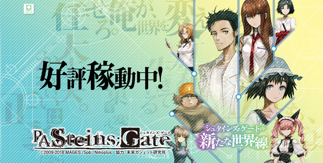 CR STEINS;GATE 99Ver